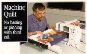 John Flynn's Portable Machine Quilting Multi Frame W/ 120cm RAILS & DVD