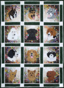 Whims Watercolour Quilt Kits Rachel's Dog Kennel Quilting Supplies