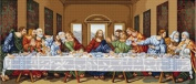Luca S The Last Supper Cross Stitch Kit
