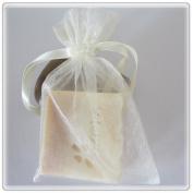 30 Ivory Wedding Organza Favour Gift Bags 10cm x 15cm