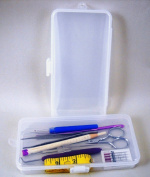 Set of 2 Sewing Organisers 1 Compartment