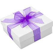 Ribbon Organza (3.8cm 100 Yards) purple