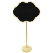Wrapables Mini Chalkboard Tag with Stand for Wedding and Party Table Markers, Plant Markers, Party Favours (set of 6) - Cloud