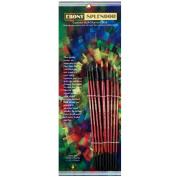 Ebony Splendour Brush Long Handle Round Set