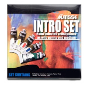 Matisse Structure Intro Set of 5 75 ml Tubes