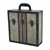 Paper Valise Storage Case with Handle by Tim Holtz Idea-ology, 13 x 34cm x 12cm , Paperboard, Multicoloured, TH93009