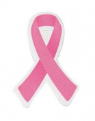 Large Pink Ribbon Stickers - 50 Pack