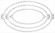 Bling Jewel Art Stickers-Frames/Ovals