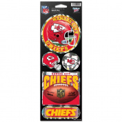 Kansas City Chiefs Prismatic Stickers