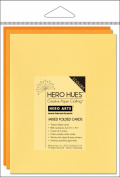 Hero Arts Rubber Stamps Hero Hues Mixed Folded Cards, Sunshine