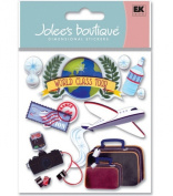 Jolee's Boutique Themed Ornate Stickers-Air Travel
