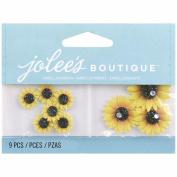 Jolee's Boutique Embellishments-Mini Sunflowers