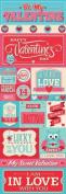 Reminisce With Love Valentine's Day Graphic Scrapbook Sticker