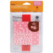 Cuttlebug A2 Embossing Folder/Border Set-Modern Vines By Anna Griffin