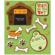 K & Company First Pet Dog Sticker Medley