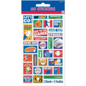 MLB Stickers 60ct