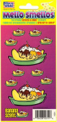 Banana Split Banana Scent Scratch and Smell Scrapbook Stickers