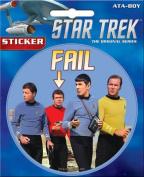 Star Trek Fail 10cm Sticker
