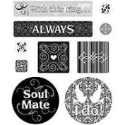 Wedding Cardstock Scrapbook Stickers