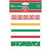 25 Days Of Christmas Trim 5 Styles/1 Yard Each-