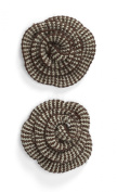 Jolee's Boutique Dimensional Stickers, Brown Houndstooth Crochet Flower