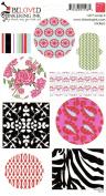 Beloved Cardstock Scrapbook Stickers