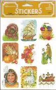 Thanksgiving Scrapbook Stickers