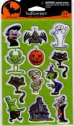 Halloween Embossed Scrapbook Stickers