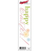 Happy Easter Title Rub-Ons for Scrapbooking