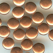 0.3cm Copper Top Painted Flat Top Round Eyelets - 50 Pack