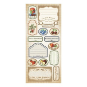 Creative Imaginations - Fresh Picked Collection - Cardstock Stickers - Fresh Picked
