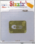 Sizzix Simple Impressions Embossing Folder Nappy Pin