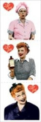 Paper House Stickers 2X2 6/Pkg - I Love Lucy