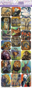 Violette Stickers Debbie Richmond Safari Animals