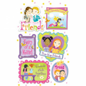American Girl Crafts Friendship Stacked Stickers