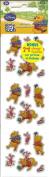 Disney Winnie the Pooh Sparkle Mini Scrapbook Stickers
