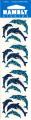 Dolphin Sparkle Scrapbook Stickers