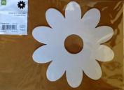 Making Memories Photo Décor 20cm White Chipboard Flower