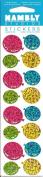 Mini Balloons Sparkle Scrapbook Stickers