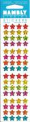Micro Stars Multicolor Sparkle Scrapbook Stickers