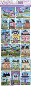 Violette Stickers Kim Leo Beach Cottages