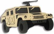 Army & Marines Laser Cut Equipment - Humvee / Tan