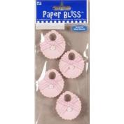 Westrim Paper Bliss Mini Embellishments - Pink Bibs