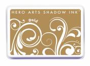 Hero Arts Shadow Ink, Gold