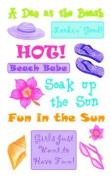 Sun Goddess Rub-ons for Scrapbooking