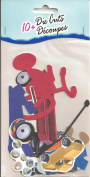 Kids Toys Diecuts for Scrapbooking