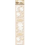 Kimberly Poloson Blooming Love Epoxy Stickers - Shapes
