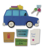 Jolee's Boutique Themed Ornate Stickers-Road Trip Time