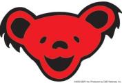 Grateful Dead - Bear Head - Die Cut Vinyl Sticker Decal