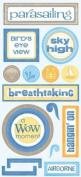 Parasailing Cardstock Scrapbook Stickers